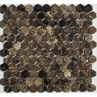 Мозаика Hexagon Emperador Dark