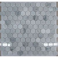 Мозаика Hexagon Bianco Carrara