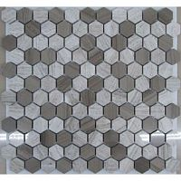 Мозаика Hexagon Grey